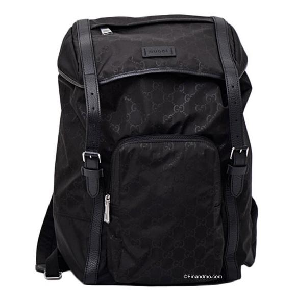 Gucci GG Guccissima Backpack Rucksack Travel Bag